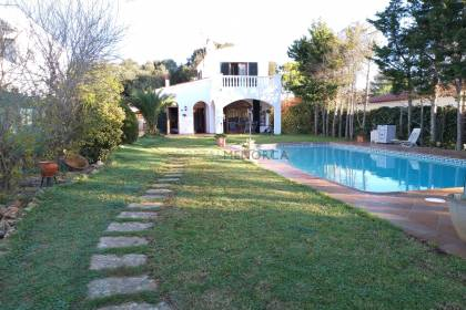 Villa with swimming pool in Son Vitamina