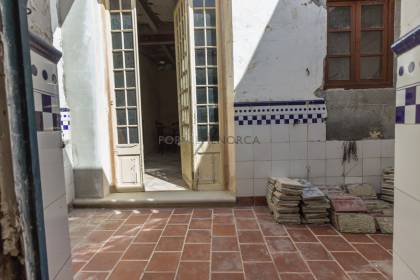 Renovation project in Mahón