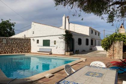 Large country house for sale in Menorca