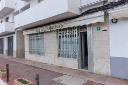 Commercial premises on the ground floor in Avenue J. A. key of Mahon