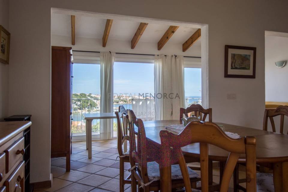 Magnificent apartment with sea views & comunal pool in Addaia