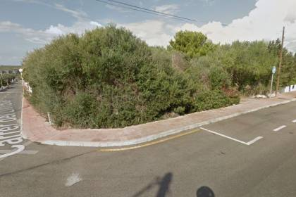 Plot of land for sale in Cala'n Porter
