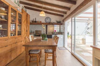 Outstanding traditional minorcan house with garden in Es Castell