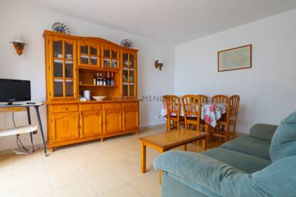 Apartment in a busy commercial area, Son Bou. Menorca.