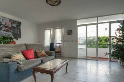 Flat on first floor in Es Castell town centre. Menorca.