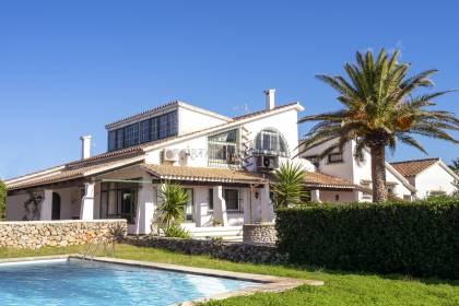 8-bedroom country house with sea views in Canutells, Menorca