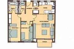 Blueprints Beautiful apartment with country views in Mahon, Menorca