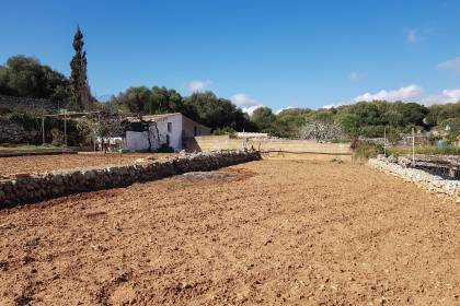 Plot of land with a tool shed in Alaior, Menorca