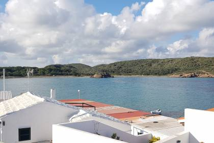Renovated house with sea views in Es Grau, Menorca.