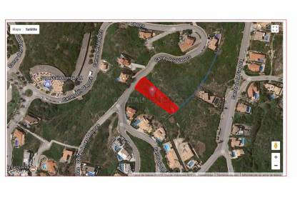 Plot for sale in Cala LLonga, Mahon Harbour.