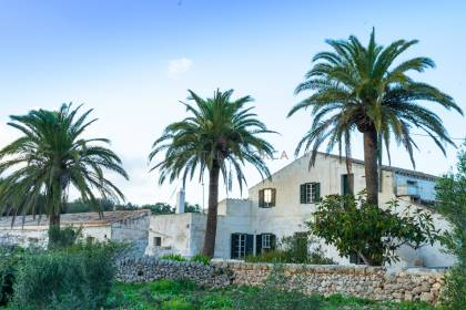A traditional dwelling Close to MAHON, ES CASTELL and SANT LLUIS.