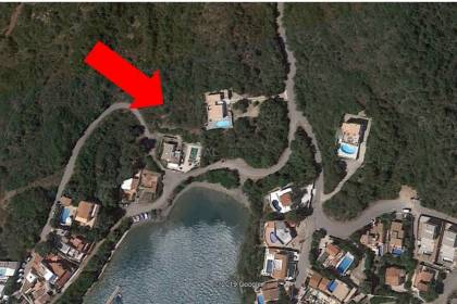 Plot with approved building project in Sant Antoni, Menorca