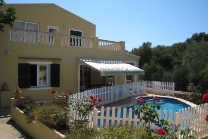 VILLA WITH SWIMMING POOL, Son Vitamina, Menorca.