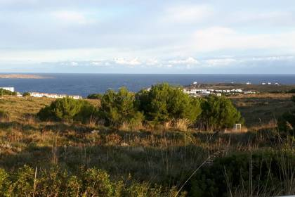 Plot with views to the sea in the exclusive Coves Noves.