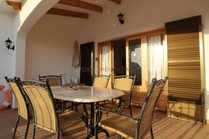 Semi-detached villa with private pool in Torre Solí, Minorca
