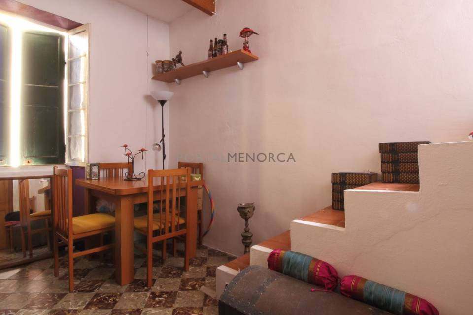 House with a large terrace in the centre of Mahón, Menorca