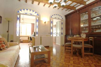 Town house with patio in Mahon town centre, Menorca.