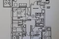 Blueprints Apartment on 1st floor with parking in Es Castell, Menorca.