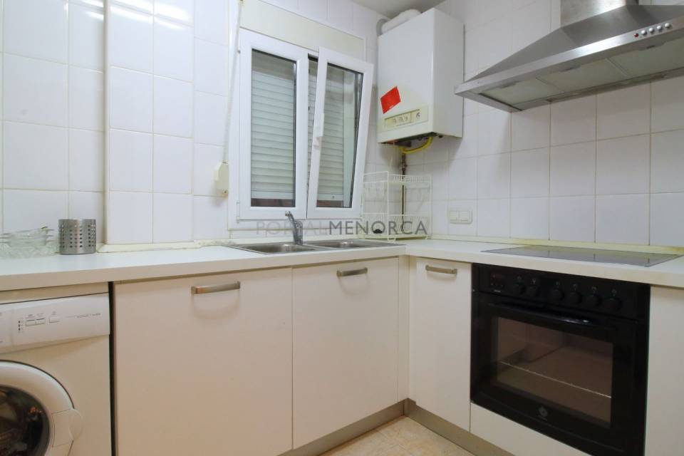 Ground-floor apartment with rear patio in Es Mercadal, Menorca