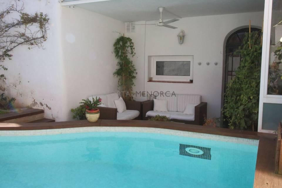 Maison ancienne renovée et avec piscine à Mahon, Minorque ...
