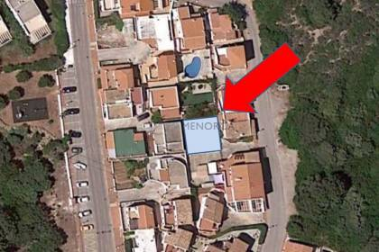 Buildable plot of land in Biniancolla, Menorca