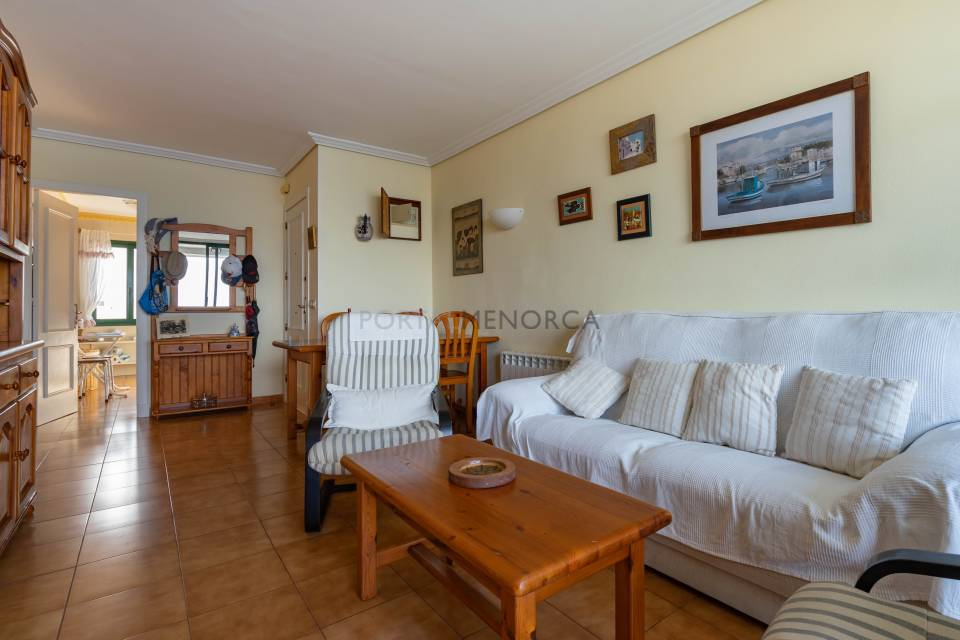 Apartment with sea views in Calesfonts, Es Castell