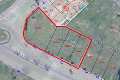 Detached plots for development of housing units in Alaior