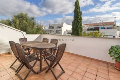First floor duplex with terraces for sale in Sant Lluís