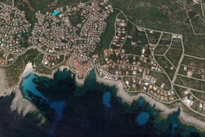 Plot of land for sale in Binibeca Nou close to the beach, Menorca