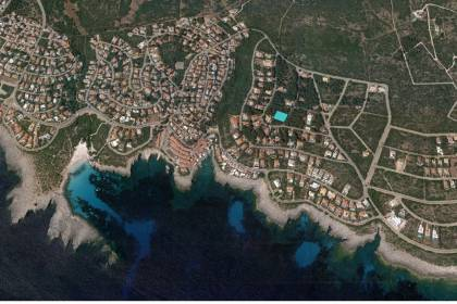 Plot of land for sale in S'Atalaia, near Binibeca Nou
