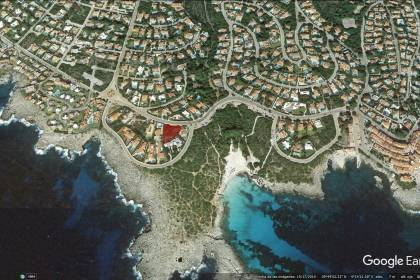 Plot of land for sale near Binibeca Beach, Sant Lluis