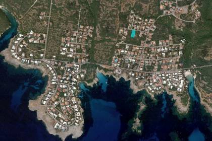 Plot of land with sea view for sale in Binisafuller, Menorca