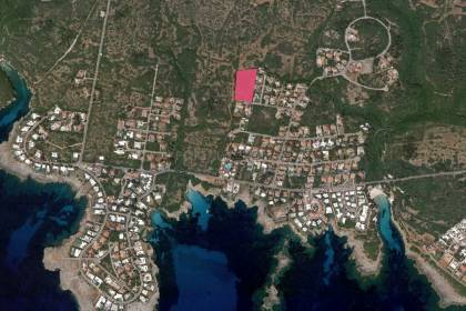Set of 6 plots of land for sale in Binisafuller, Sant Lluis