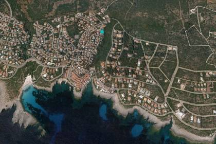 Plot for sale in Cala Torret ravine, Binibeca Nou