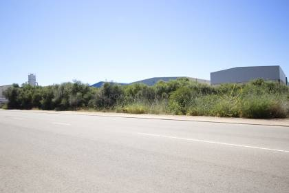 Large plot for sale in the commercial area of Sant Lluis