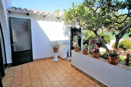 Spacious ground floor house with large plot for sale in Trepuco, Es Castell