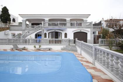 Second line with sea view villa for sale in Son Ganxo, Sant LLuis