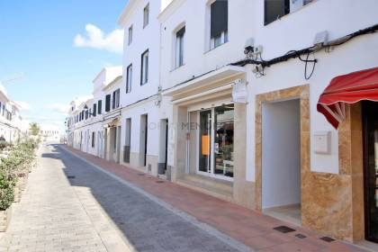 Commercial premises for sale in the main street of Sant Lluis