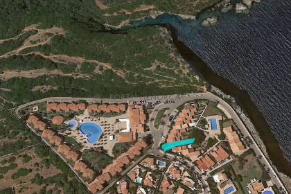 Plot of land with sea view for sale in S'Algar