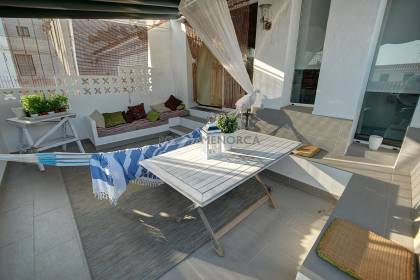 A 4 bedroom townhouse close to Calas Fonts.
