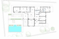 Blueprints Four bedroom villa with three bathrooms for sale in Binibeca Vell, with tourist license