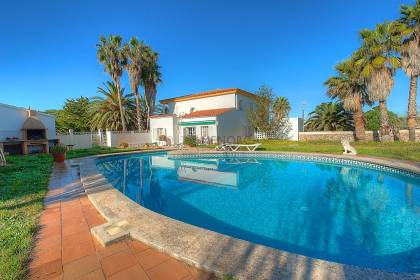 Modern farm house with seven bedrooms various annexes and pool in Alaior