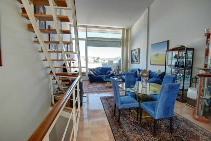 Penthouse with Harbour views in Mahon Menorca