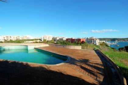 Spectacular 4 bedroom house in Mahon with sea views.