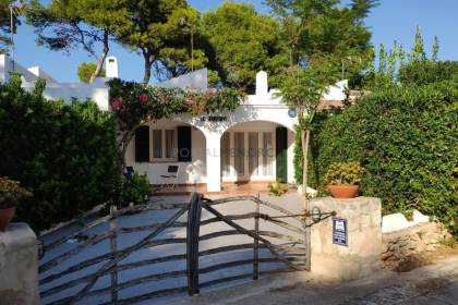 Charming semi-detached home for sale in Cala en Blanes