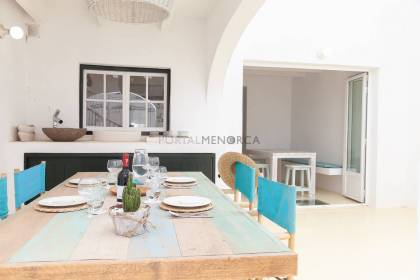 Fantastic house with patio in the heart of Es Mercadal