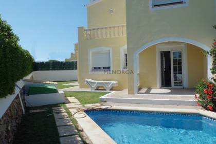 Villa with swimming pool in Calan Bosch