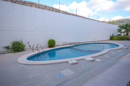 Ground floor flat with pool en Es Mercadal