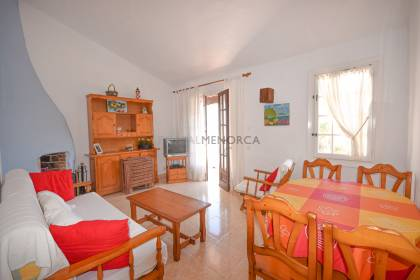 Sea view apartment in Playas de Fornells.