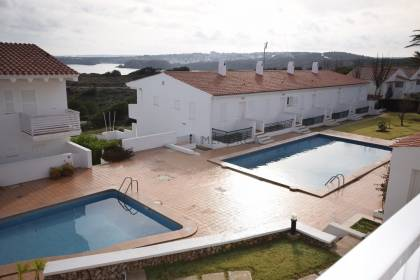 Terraced apartment with sea view in Son Parc Menorca